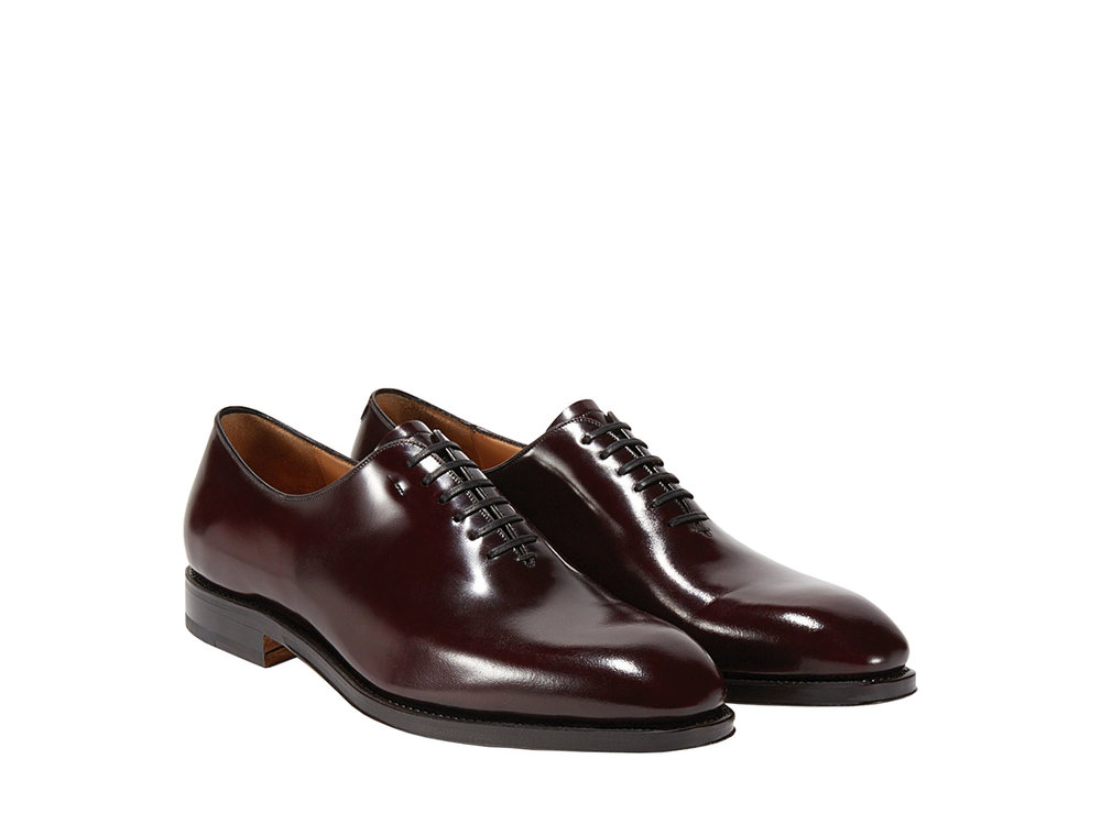 12.Plain-Toe Oxford by Salvatore Ferragamo ‬$1,210,  ferragamo.com