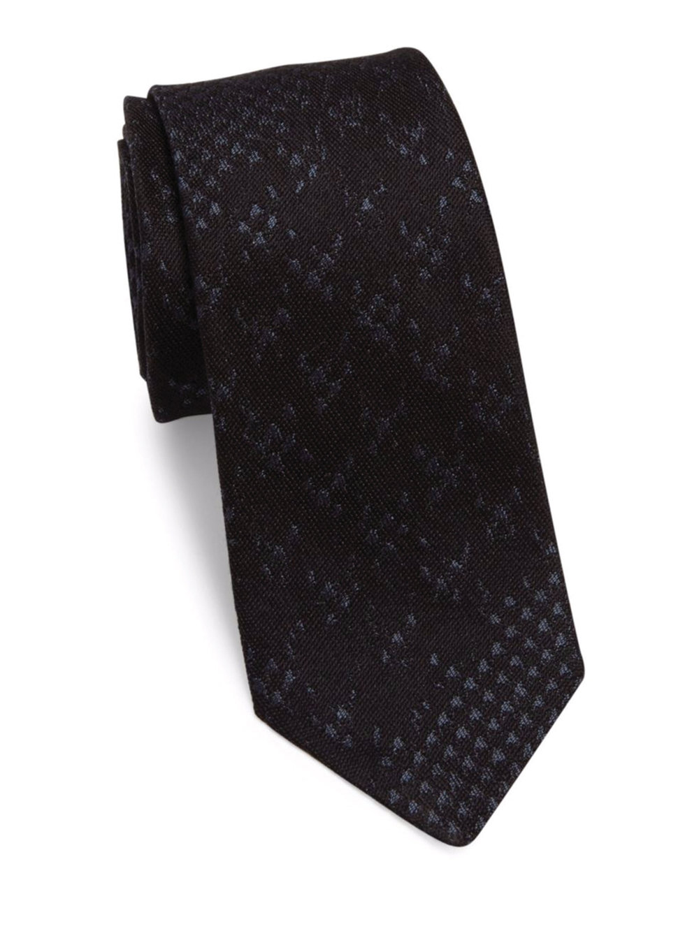 8.Textured Silk Tie by Burberry‭ ‬$250,  burberry.ca