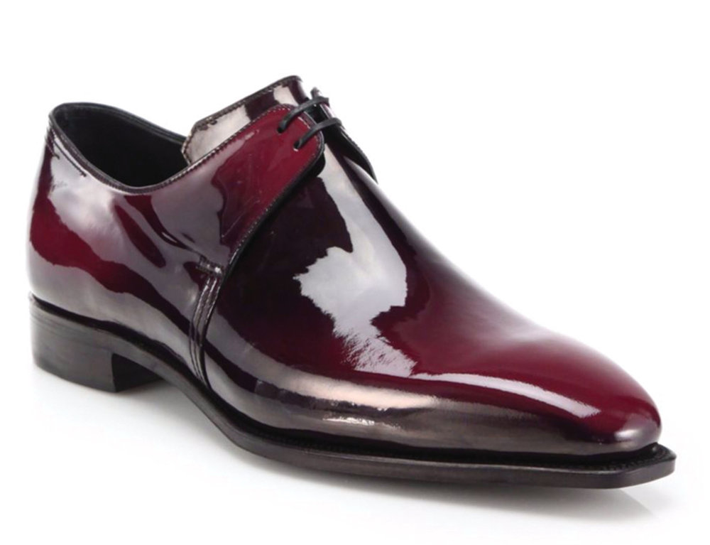 9.Arca Patent Leather Derby Shoes by Corthay ‬From $2,895,  saksfifthavenue.com