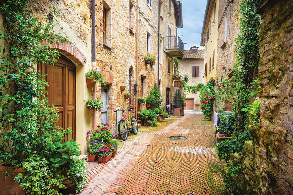 The charming town of Pienza was named for Pope Pius II. Jaroslaw Pawlak ShutterStock.com