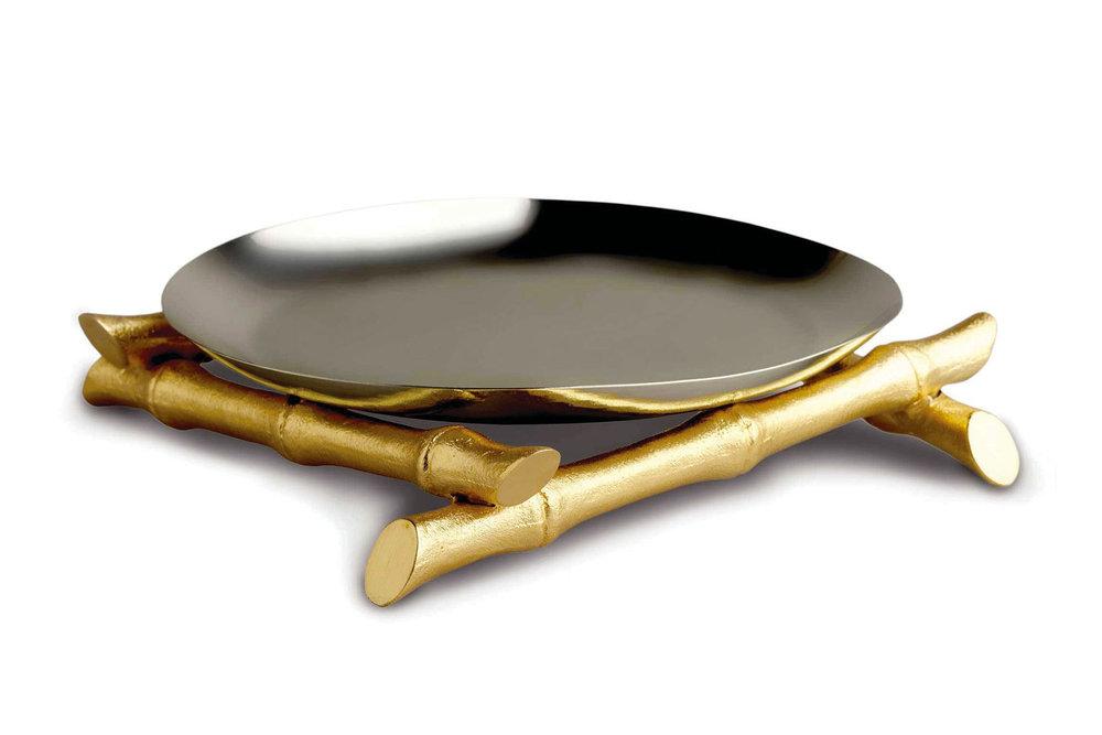 L'Objet Bambou Round Platter At Atkinson's, (604) 736-3378,  atkinsonsofvancouver.com