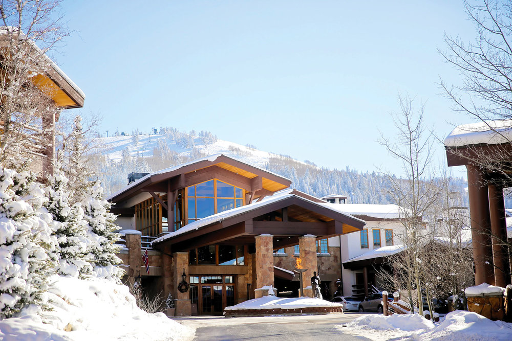 A ski butler will meet you at your car when you pull up to the Stein Eriksen. photos courtesy of Stein Eriksen Lodge