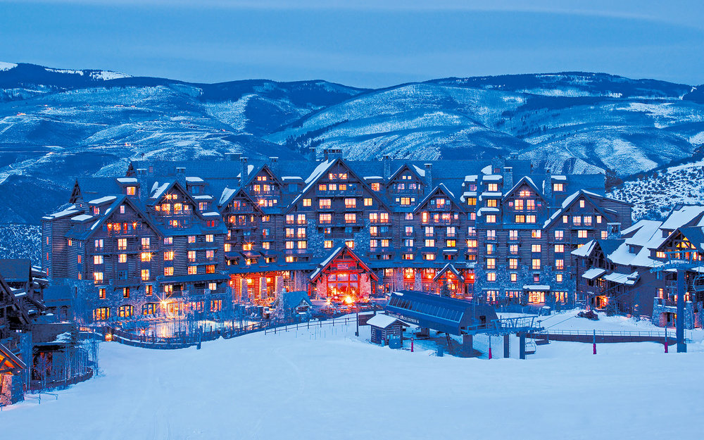 The majestic Ritz Carlton Bachelor Gulch. Photos courtesy of The Ritz-Carlton, Bachelor Gulch