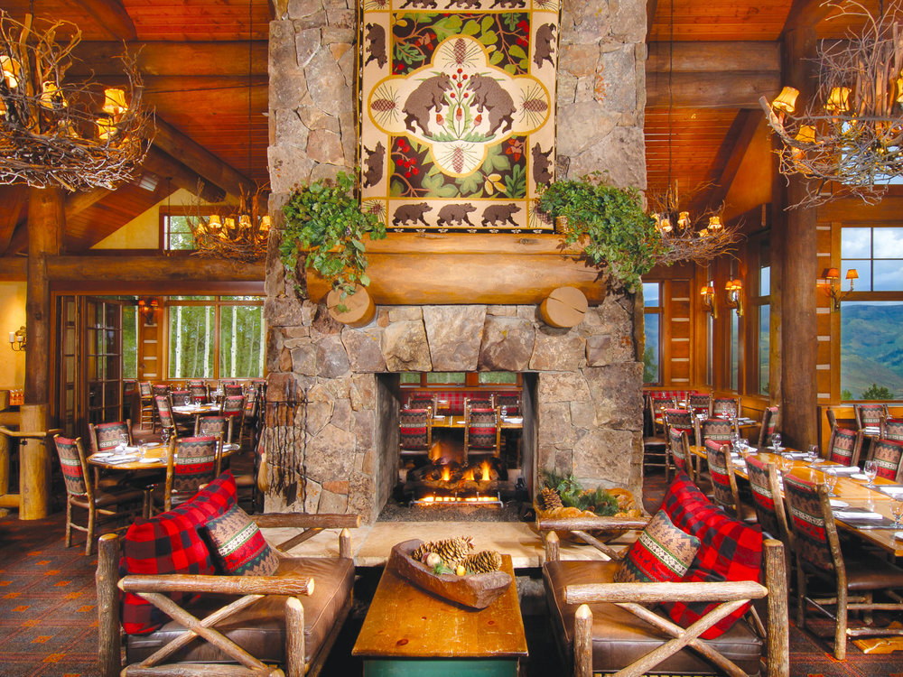 Zach's Cabin is the perfect spot for mountaintop fare. Photos courtesy of The Ritz-Carlton, Bachelor Gulch