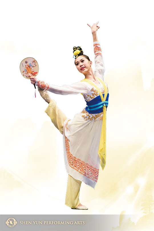 Lin won gold medals in the junior and adult divisions of NTD Television's International Classical Chinese Dance Competition.