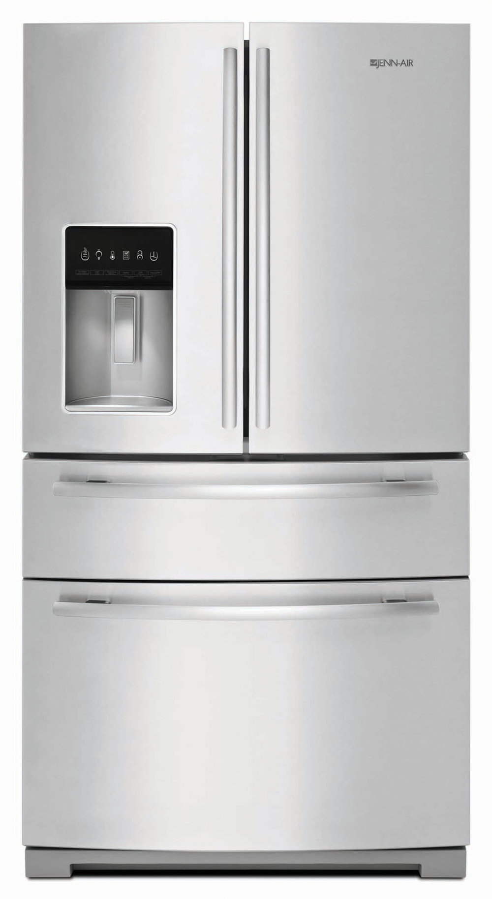 "Jenn-Air Jenn-Air 69"" Standard-Depth French Door Refrigerator At Trail Appliances, (604) 278-6133, jennairblack.ca"