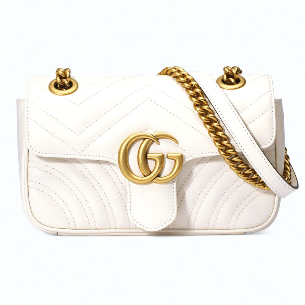 GG Marmont Matelassé Mini Bag by Gucci