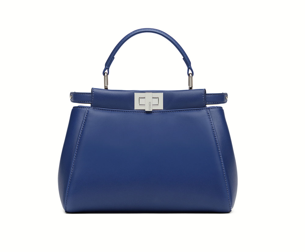 Mini Peekaboo Handbag by Fendi