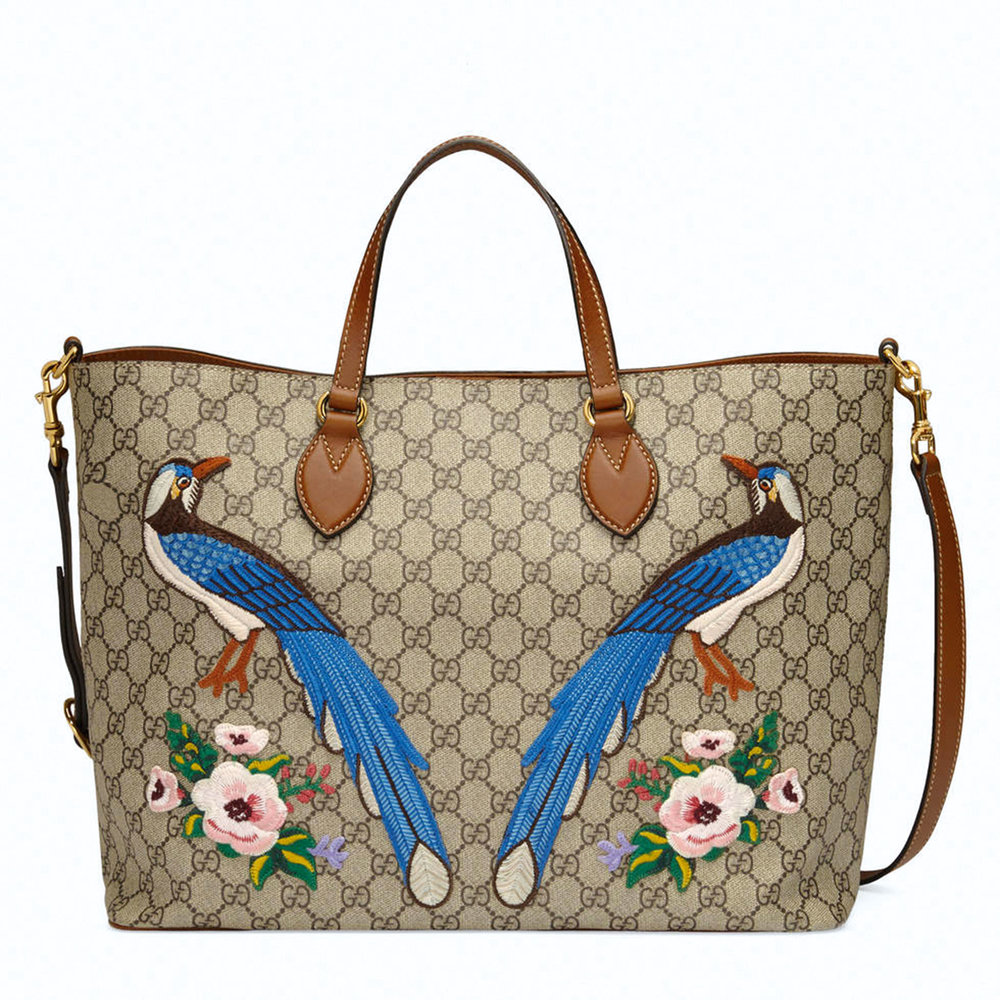 Exclusive Soft GG Supreme Tote by Gucci