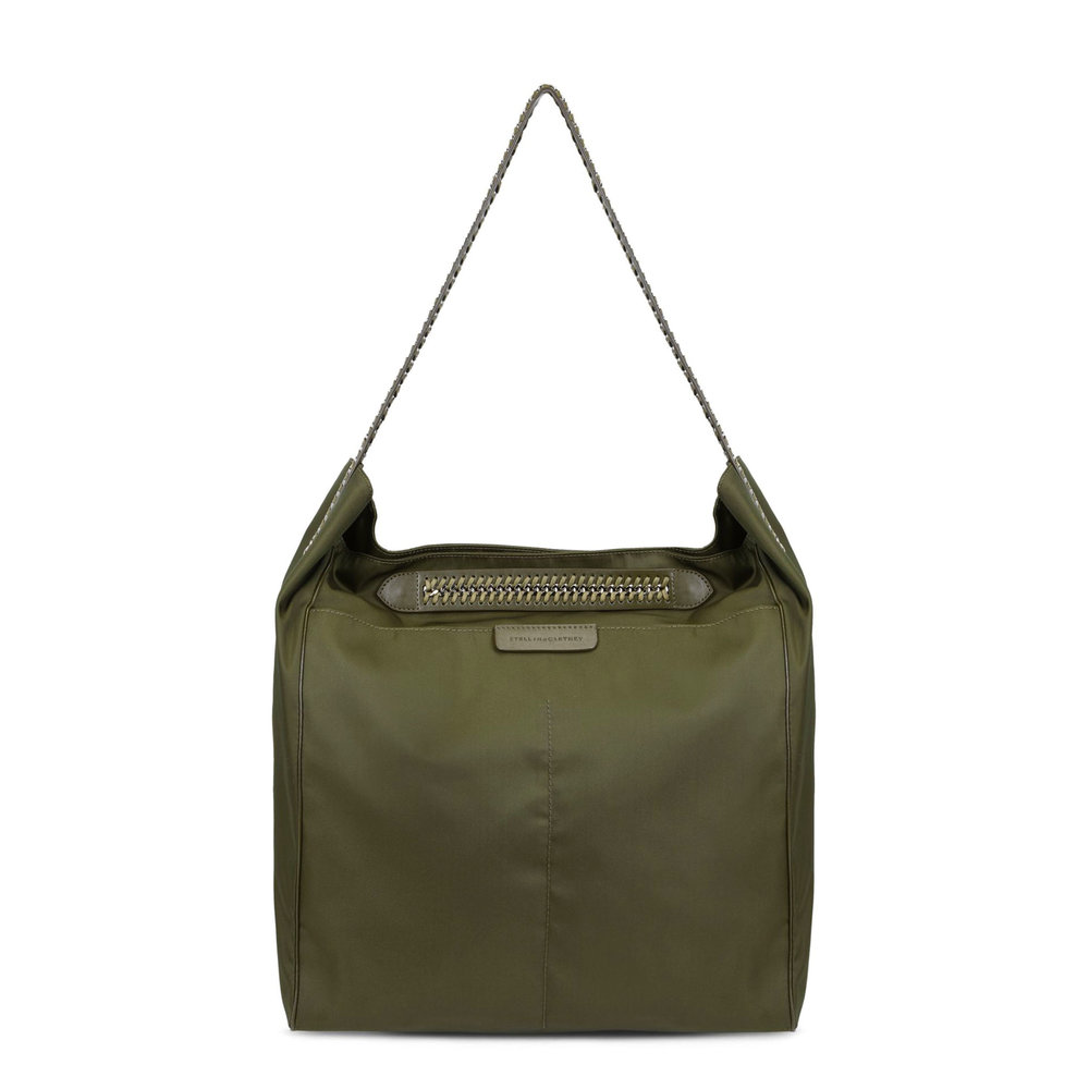 Khaki Falabella GO Hobo Bag by Stella McCartney