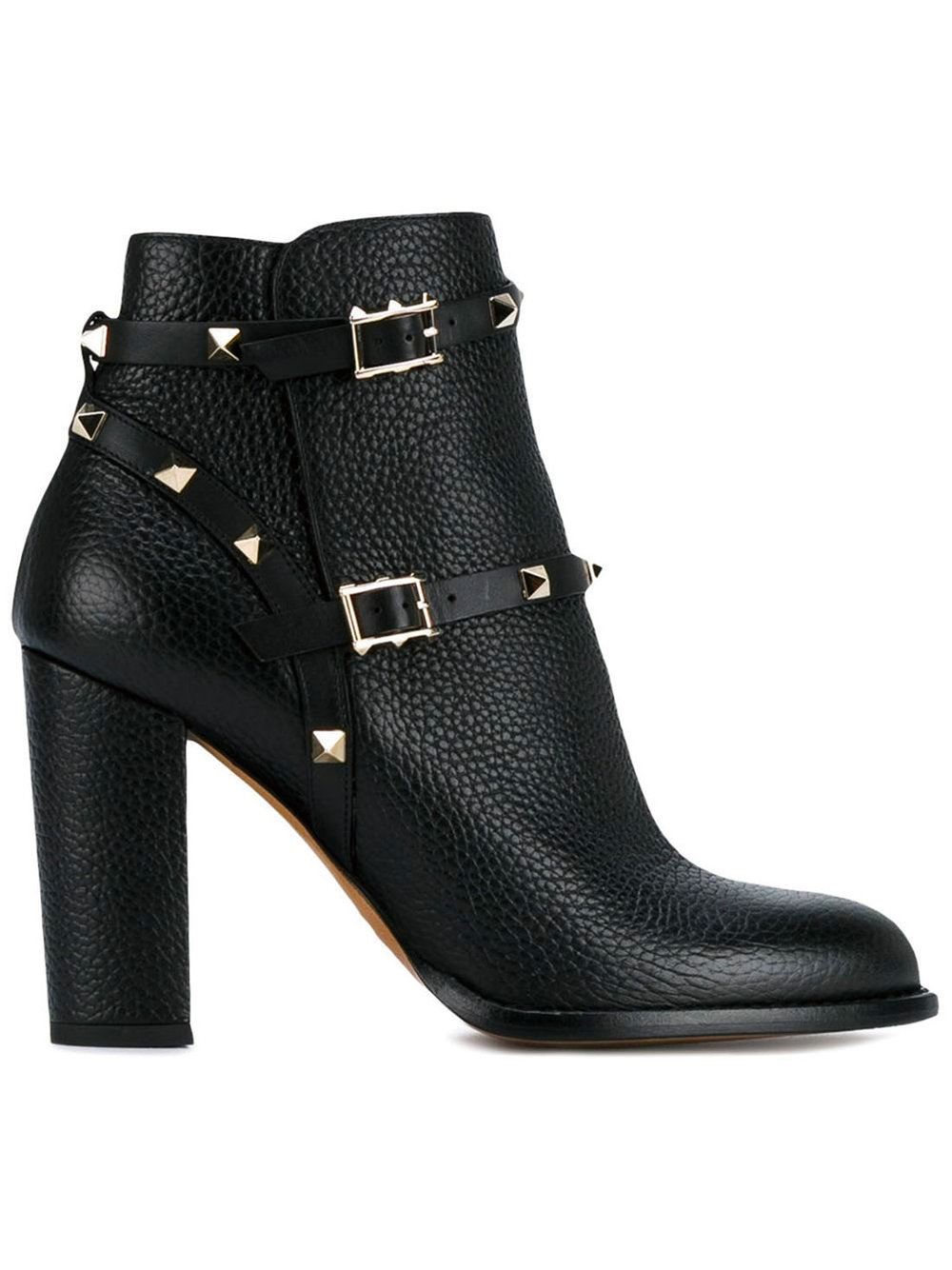 Rockstud Ankle Boots by Valentino