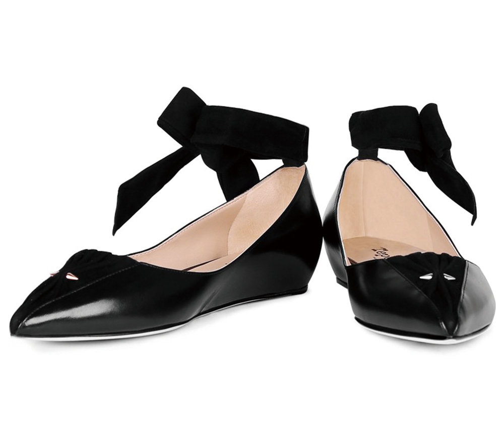 Repetto lifestyle ballerina shoes.