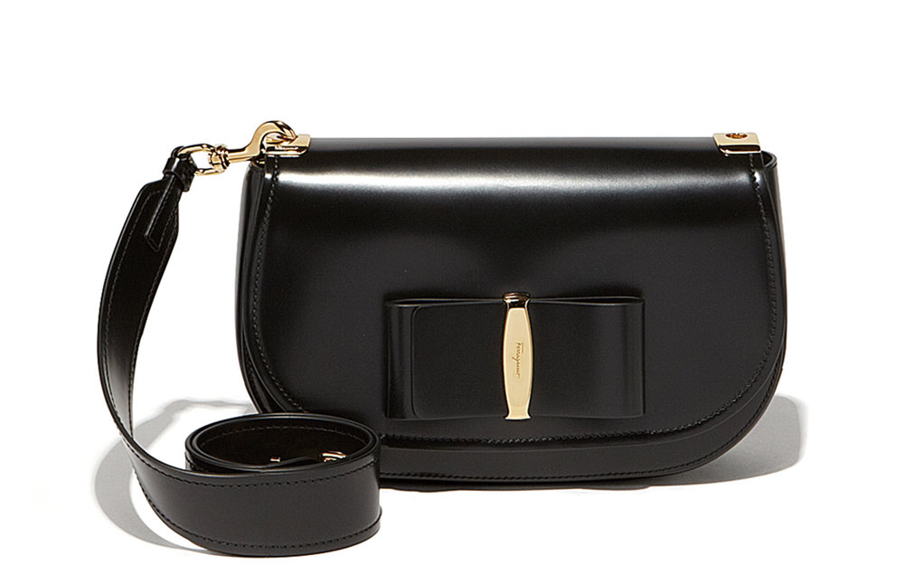 Vara Lux Flap Bag by Salvatore Ferragamo