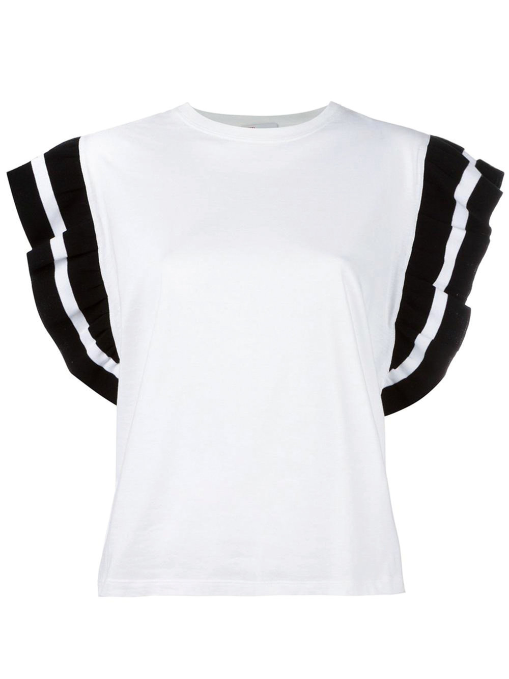 Ruffle Sleeves T-Shirt by Valentino