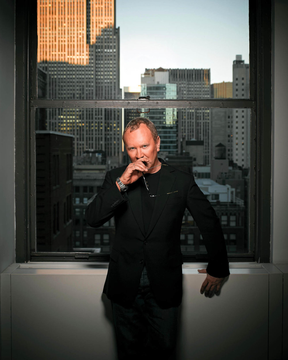 Iconic designer Michael Kors' bold spirit is on par with his ingenuity in fashion design.  Photos Courtesy of Michael Kors