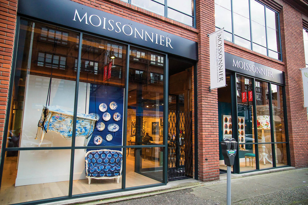 Moissonnier's new 3,000-square-foot Vancouver showroom boasts the French furniture-maker's most iconic collections. Photos by Kim Bellavance