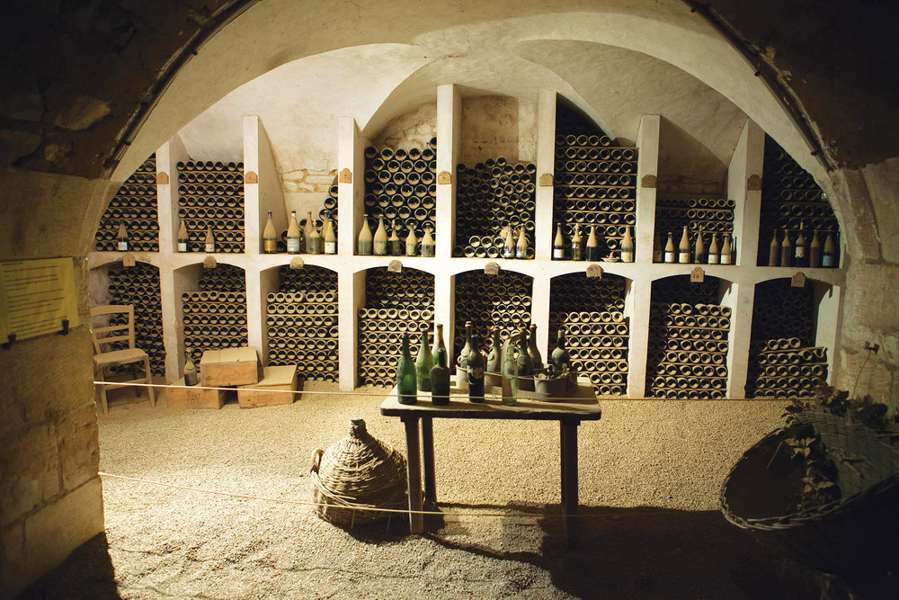 Cellars like this one store wine throughout the Loire Valley and can be visited for tastings. wjarek / shutterstock.com