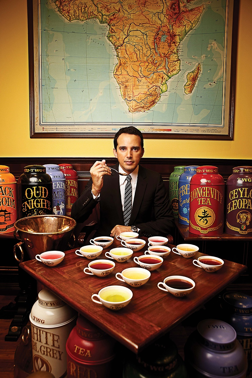 Company founder Taha Bouqdib still personally creates every TWG tea blend. Photos courtesy of TWG Tea