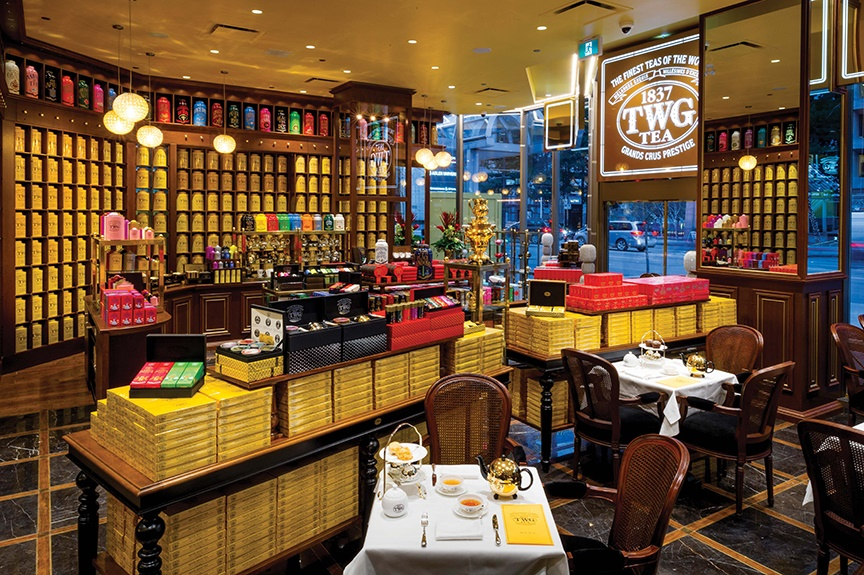 Bouqdib chose Vancouver, BC, for TWG's first North American tea salon.