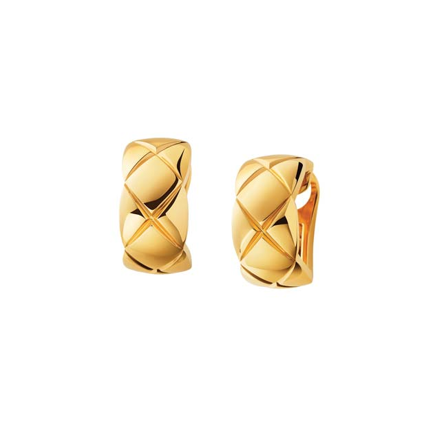 Coco Crush 18k Gold Earrings by CHANEL