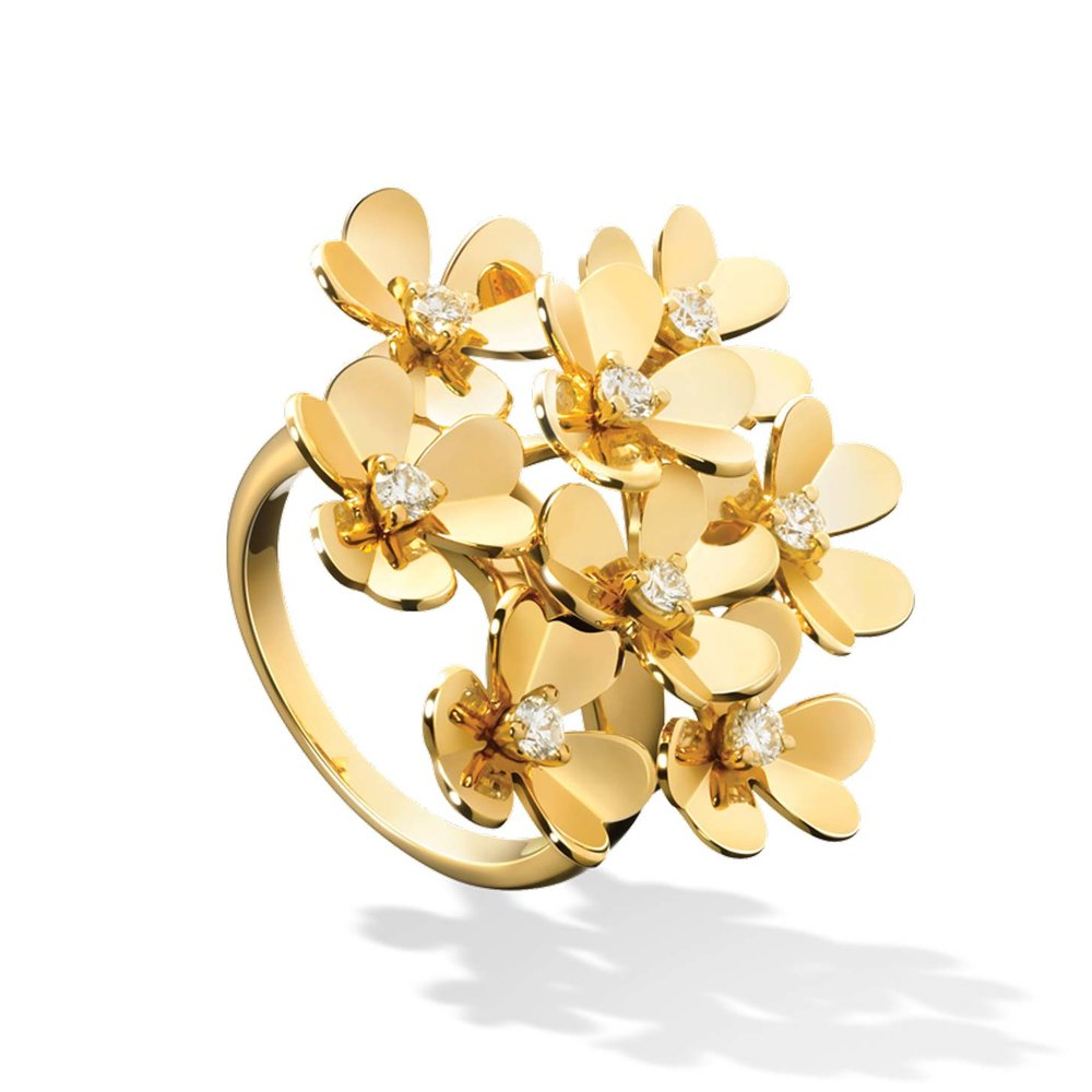 Frivole Ring 8 Flowers by Van Cleef & Arpels $10,800