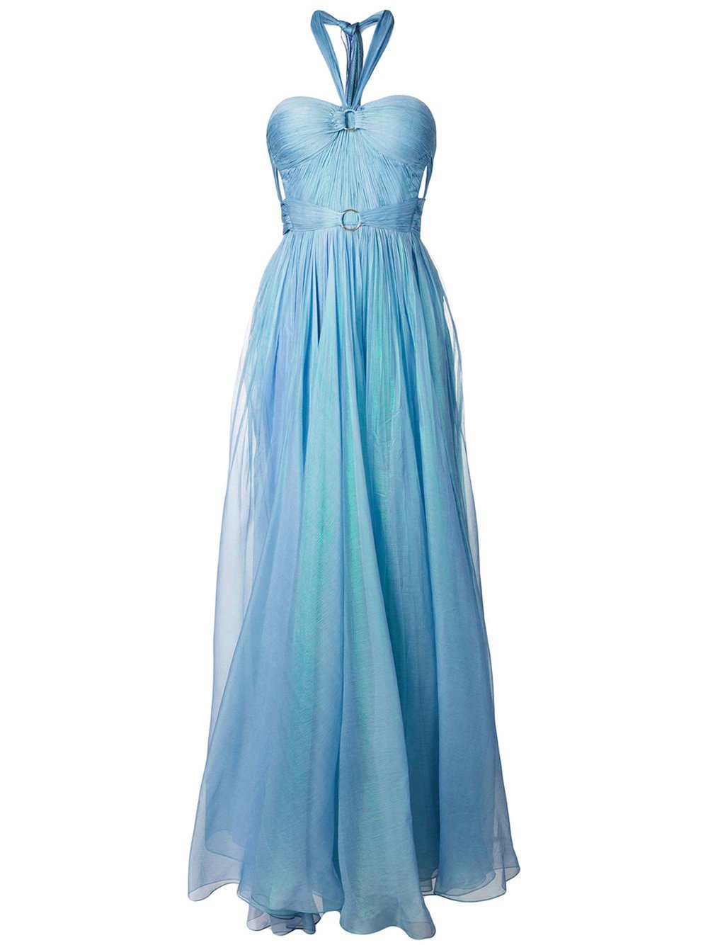 Halterneck Strapless Gown by Maria Lucia Hohan $2,674