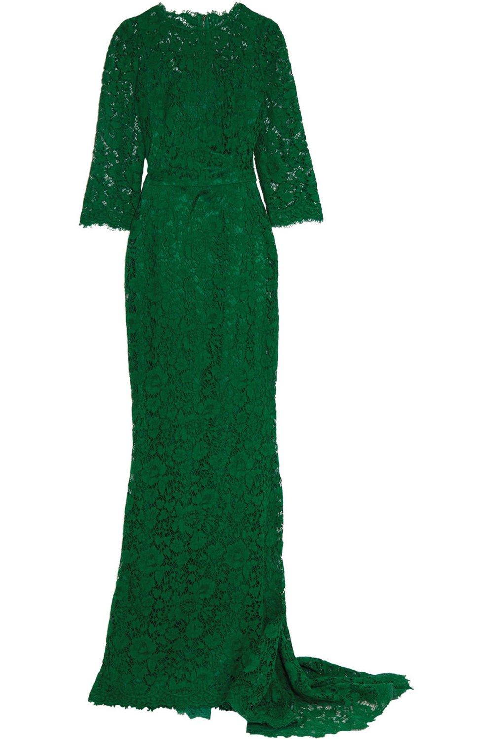 Embellished Corded Lace Gown by Dolce & Gabbana US$5,795