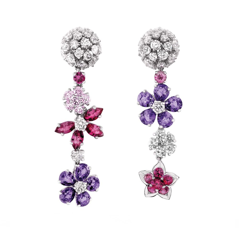 Folie des Prés Earrings by Van Cleef & Arpels