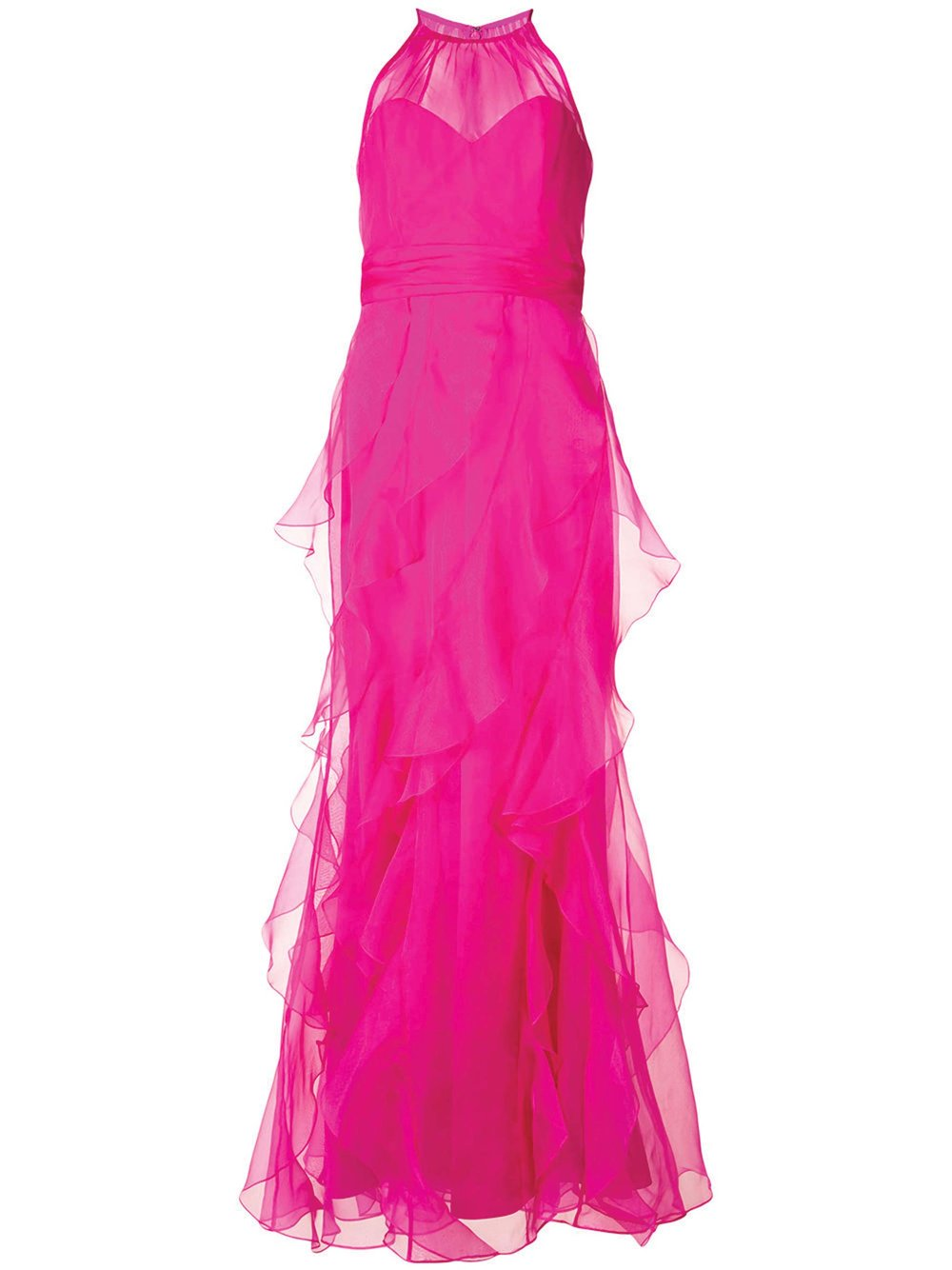 Layered Maxi Gown by Badgley Mischka $1,998