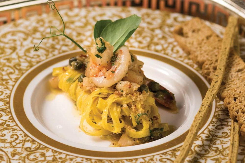 """""""The heritage that we have such respect for resonates with the customer, and they feel that they're experiencing an authentic Italian night and evening,"""" Miceli says, mentioning that Giulios pasta — the dish named after him — is one of the most popular.Photography by Milos Tosic"""