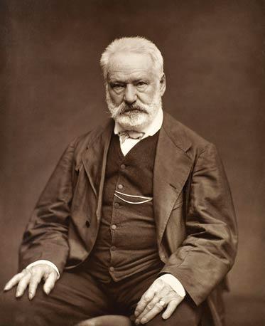 Chef Florian Hugo is a direct descendent of Victor Hugo (pictured here), one of France's most famous authors.