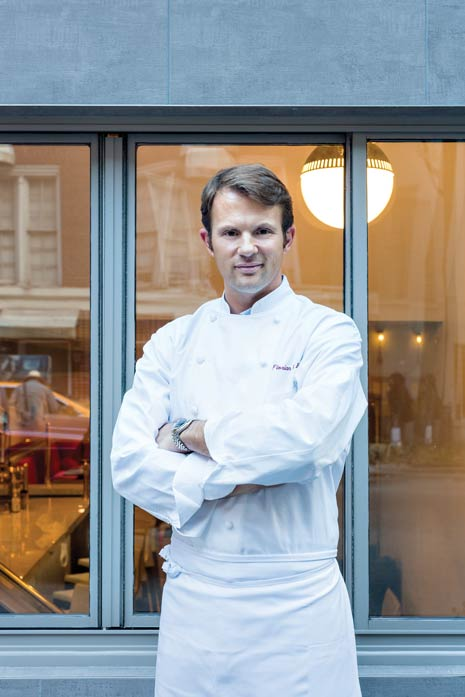 From a long lineage of artists, Chef Florian Hugo is leaving his mark on French culture by captivating people's palates in New York.