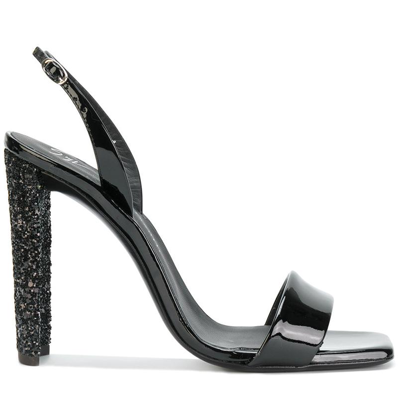 Sabine Block Heel Sandals by Giuseppe Zanotti