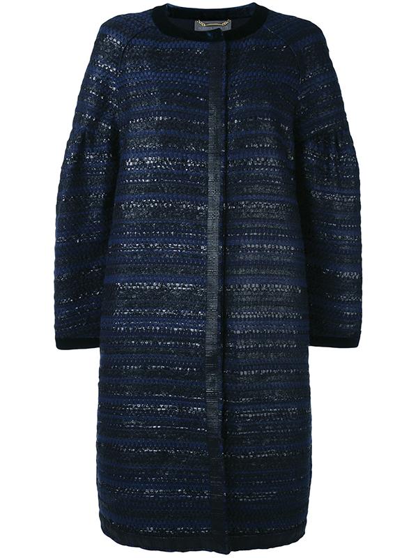 Tweed Coat by Alberta Ferretti