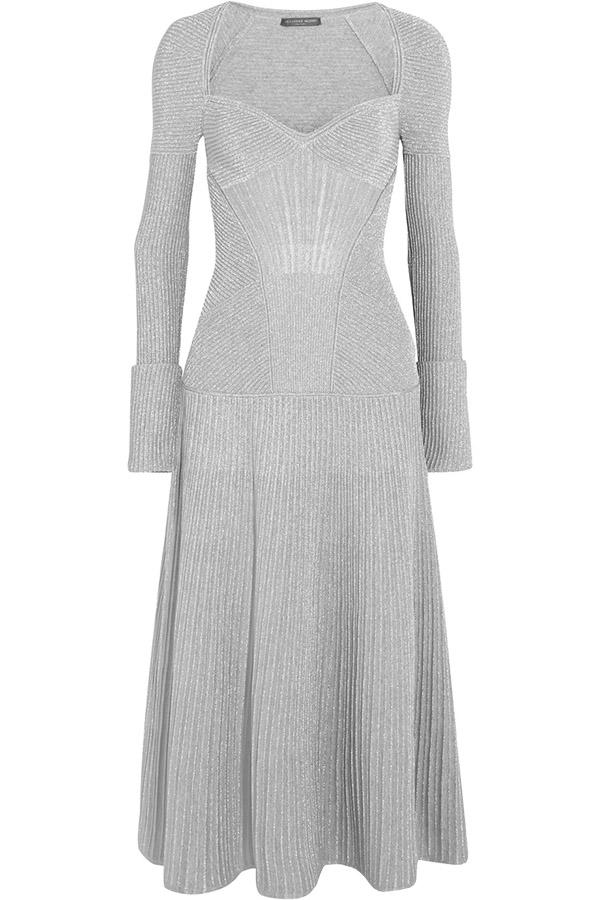 Long Knit Dress by Alexander McQueen