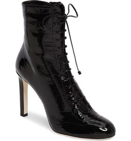 Daize Lace Up Bootie by Jimmy Choo