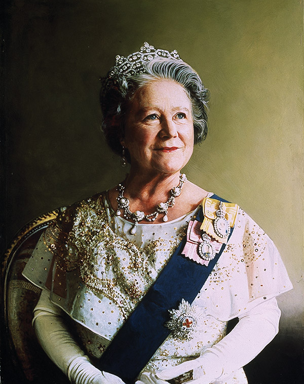 At 22 years old, Richard Stone became the youngest royal portrait painter in two centuries, painting Her Majesty Queen Elizabeth, the Queen Mother, whom he captured on canvas seven times.Copyright Richard Stone