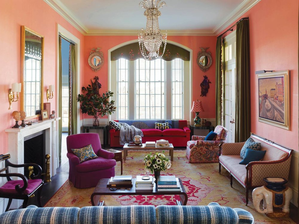 Pennoyer's wife, interior designer Katie Ridder, masterfully complements colours throughout the elegant home, which keeps it youthful and lively.