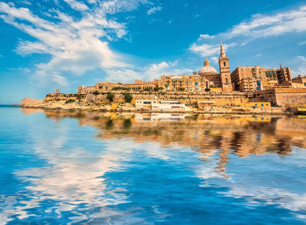 Valletta's majestic Grand Harbour is one of the most spectacular ports to visit in the world.In Green / Shutter