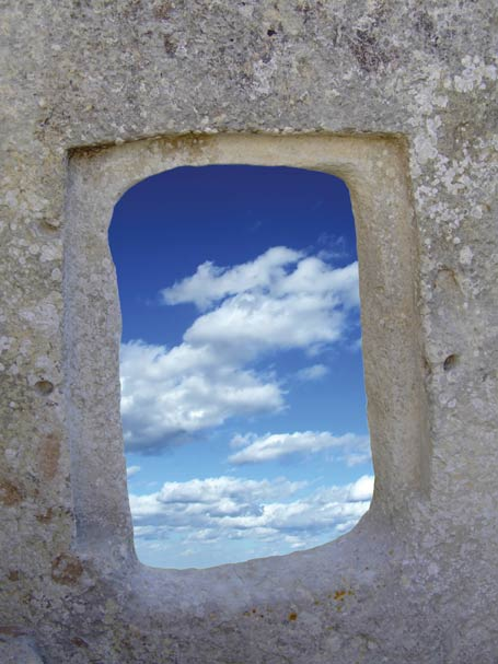 This window is part of one of the oldest freestanding temples in the world.yanugkelid / Shutterstock.