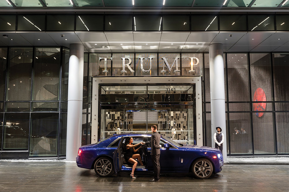 Trump Tower takes luxury in Vancouver to new heights.Photo by Hugh Zhao