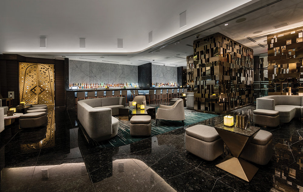 Trump Champagne Lounge. Photos Courtesy of Trump International Hotel & Tower Vancouver