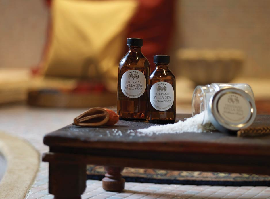 Spa treatments at Greece's top thermal spas are completed with quality spa products featuring natural ingredients sourced from the Mediterranean.