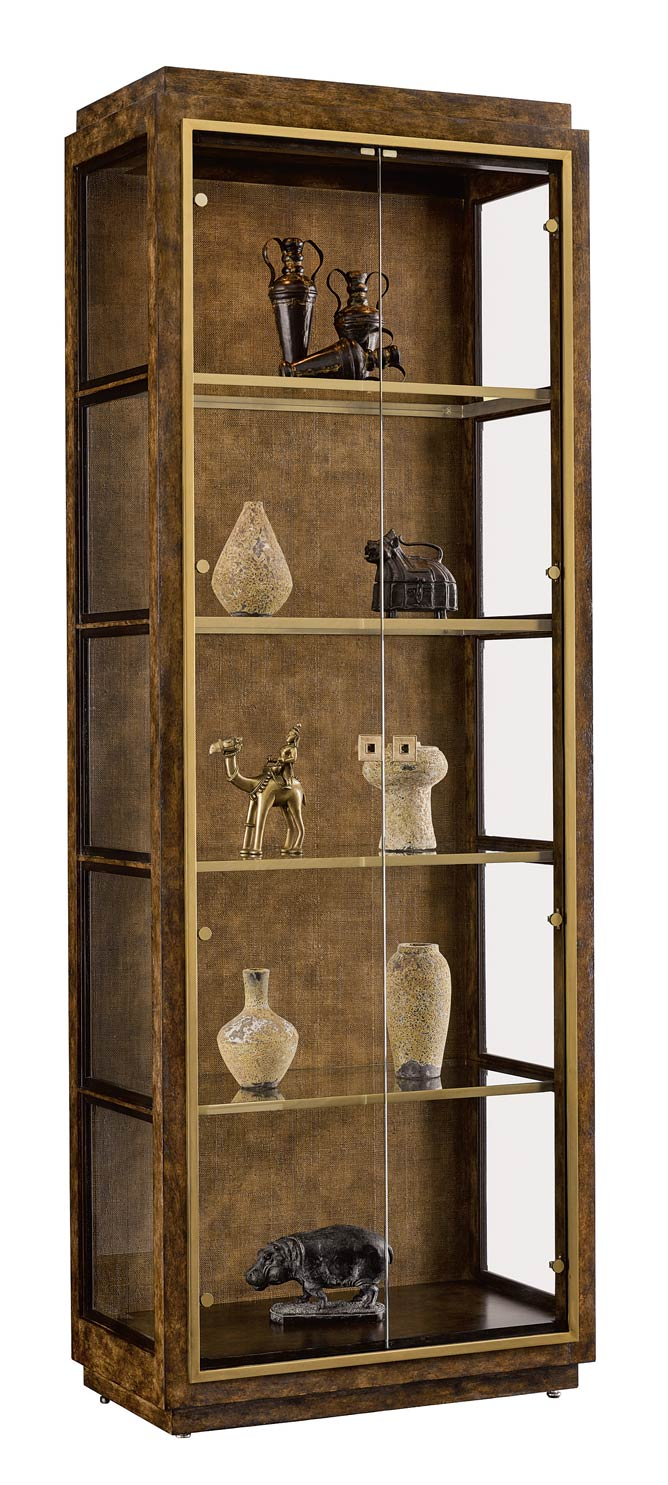 Marge Carson Palms Display Cabinet $9,995
