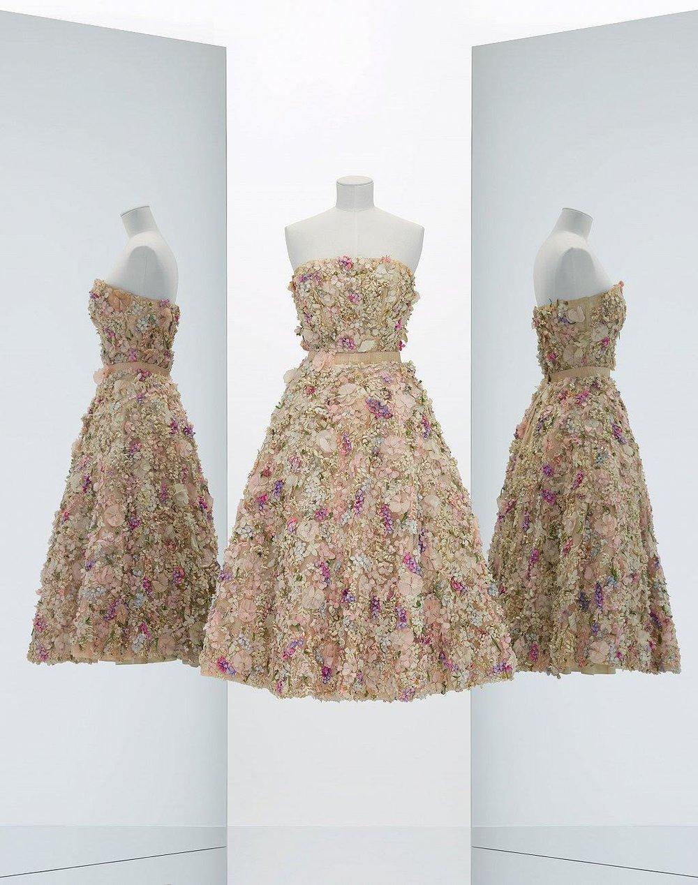Mis Dior Evening Dress (Spring-Summer 1949)