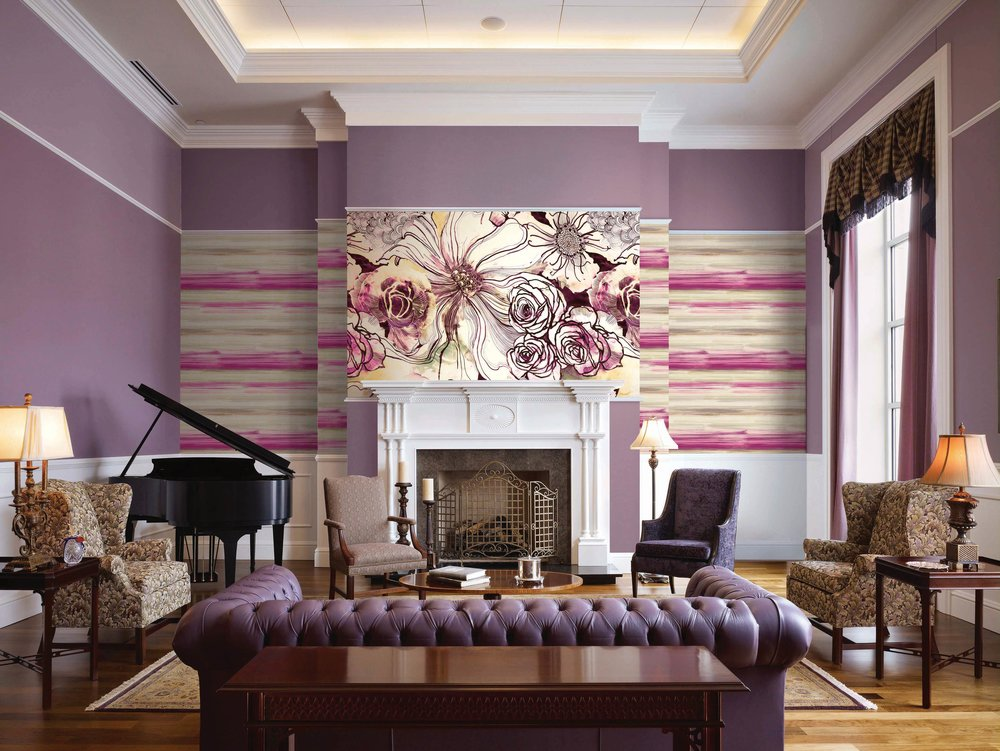 Carl Robinson Edition XII Collection Leopold Mural Wallpaper At Crown Wallpaper & Fabric