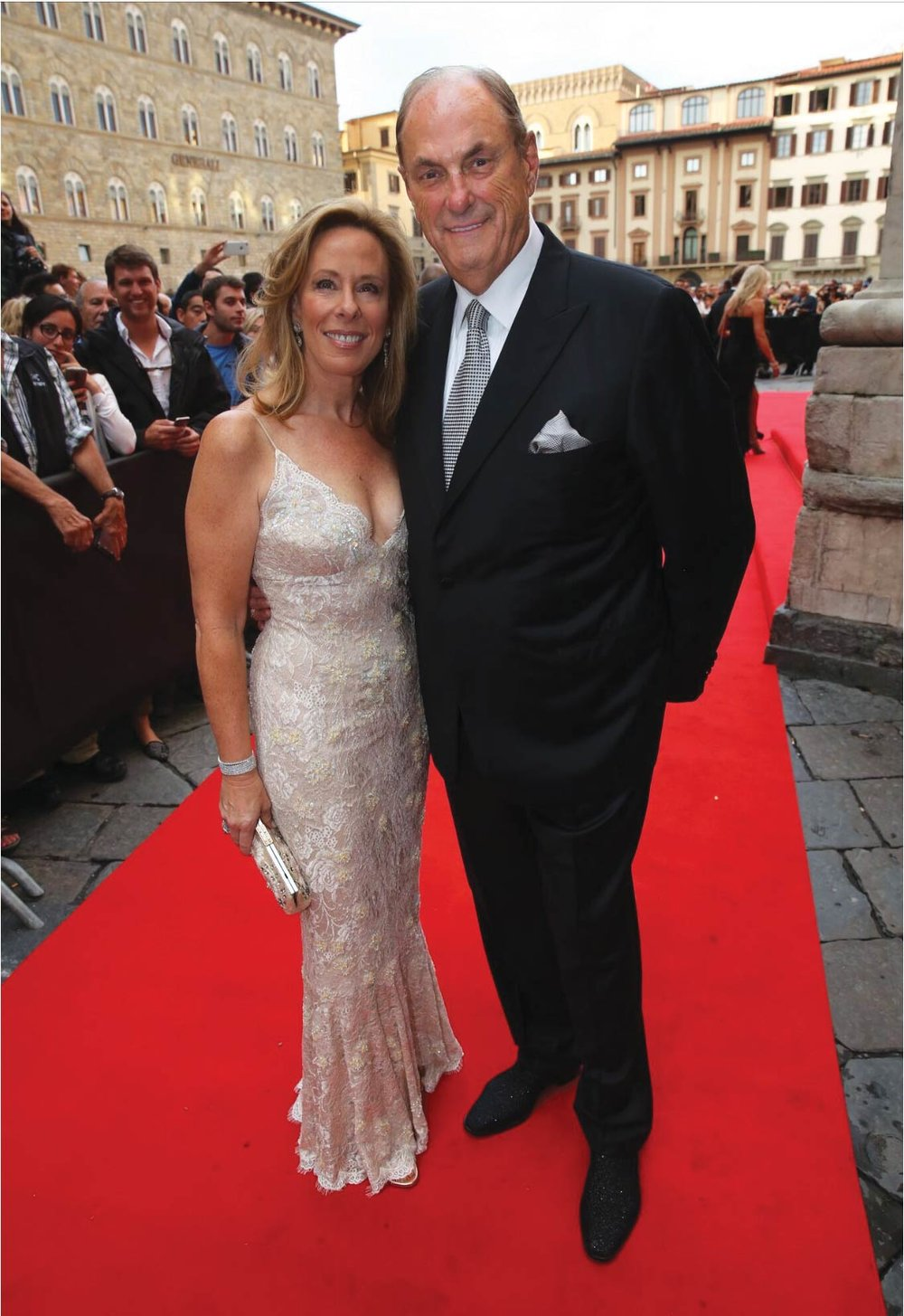 Power couple Jim and Sandi Treliving attend the Andrea Bocelli Foundation Gala.Photography by Dennis Grocer