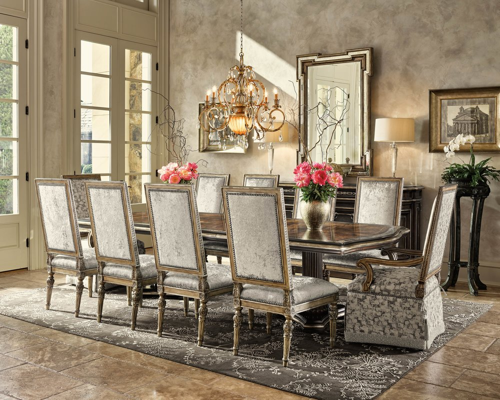 Marge Carson Grand Traditions Dining Room At Paramount Home & Design