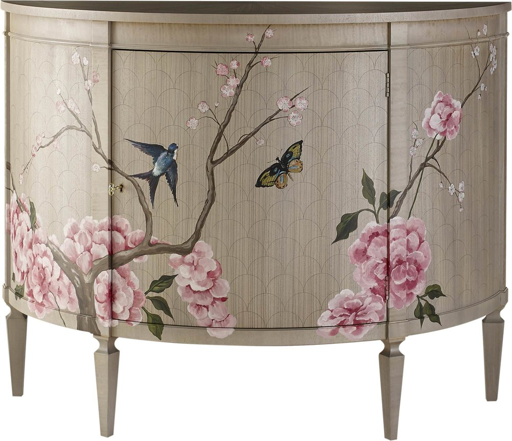 Baker Furniture Sakura Demilune Chest At Brougham Interiors