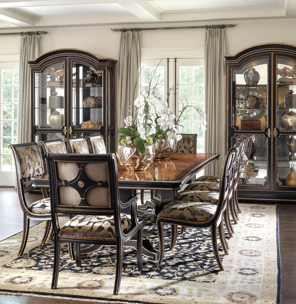 Marge Carson Ionia Dining Room  At Paramount Home & Design,